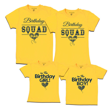 Birthday Squad T Shirts