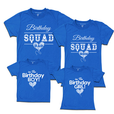 birthday party t-shirts - Birthday Squad