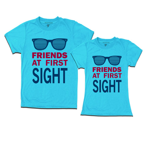 Matching T-shirts For Friends- First Sight