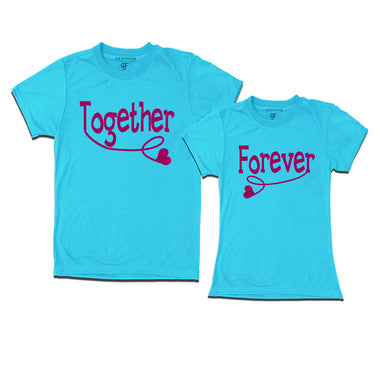 together forever Couple's T-shirts