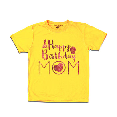 Happy birthday mom from son t shirts