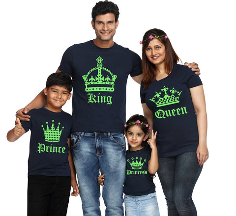 King Queen Prince Princess T Shirts