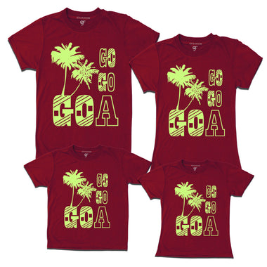 go go goa t-shirts for family vacation tribe