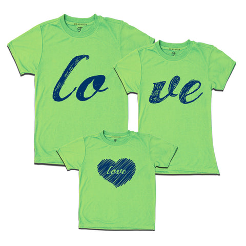 1ecf00b57 family t shirts set of 3 father mother daughter – Page 3 – GFASHION