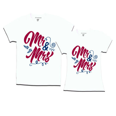 mr and mrs couple t shirts