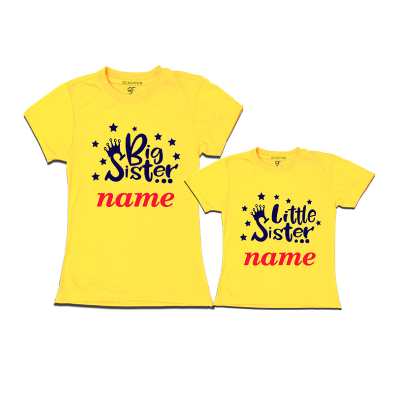 big sister little sister names t shirts