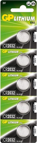 GP Batteries Lithium Cell CR2032 Lithium 3V, GP