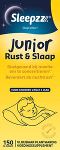 Sleepzz Junior Rust en Slaap Voedingssupplement - 150 ml, Sleepzz