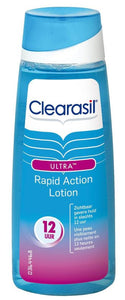 Clearasil Ultra Rapid Action Lotion - 200 ml - Reinigingslotion - 200 ml - Reinigingslotion, Clearasil