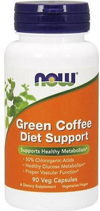 Green Coffee Diet Support 90v-caps, Now Foods