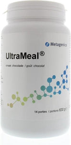 Metagenics UltraMeal Chocolade 630 gram, Metagenics