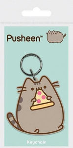 Pusheen Pizza - Sleutelhanger, Pyramid