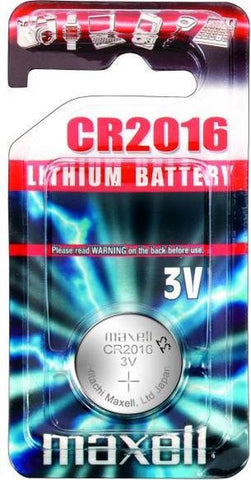 Maxell CR1616 lithium battery, Maxell