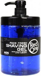 Red one Face Fresh Shaving gel 4x1000 ml, Red One