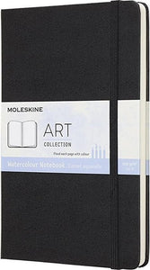 Moleskine Art Waterverf Album Large - Hard cover - Blanco - Zwart, Moleskine