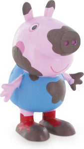 Peppa Pig: George on the mud - 5,5 cm, Comansi