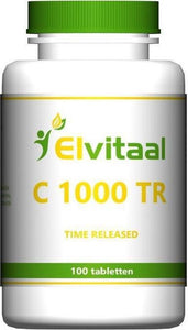 Elvitaal Vitamine C 1000 - 100 Tabletten - Vitaminen, How2behealthy