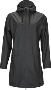 Rains W Coat 1246 Regenjas - Dames - Black, Rains