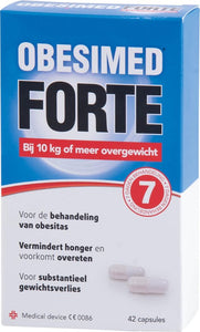 Obesimed Forte - 42 capsules - Voedingssupplement, Obesimed