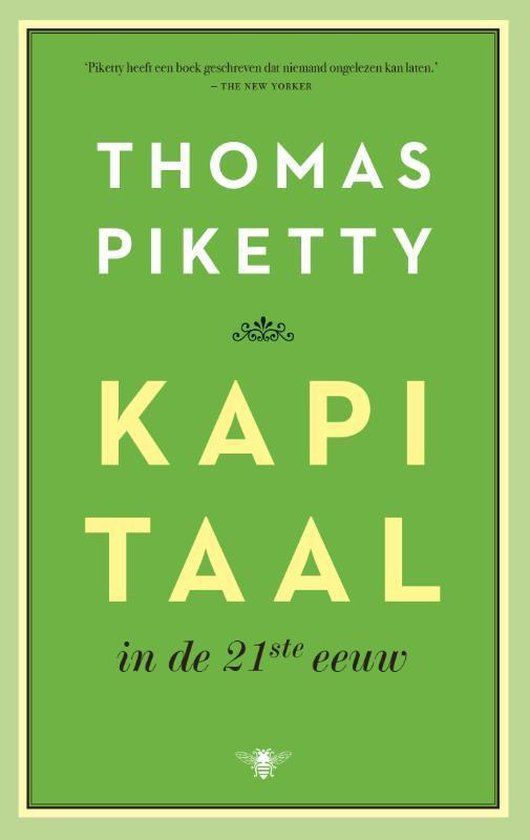 Kapitaal in de 21ste eeuw, Thomas Piketty