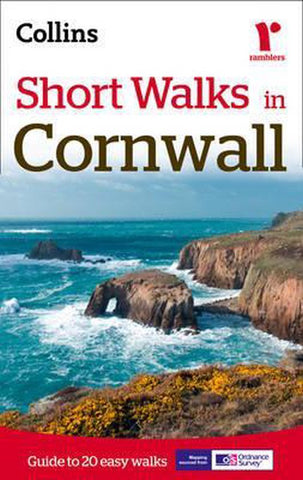 Short Walks in Cornwall, Collins Maps