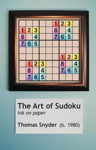 The Art of Sudoku, Thomas Snyder