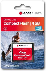 AgfaPhoto Compact Flash, 4GB 4GB CompactFlash flashgeheugen, AgfaPhoto