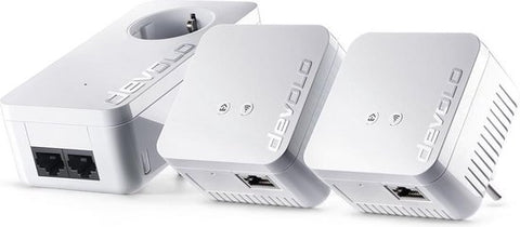 devolo (#9643) dLAN 550 WiFi Network Kit Powerline - NL, devolo