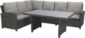 PAZOON Vancouver Lounge dining set - Rocca wicker, PAZOON