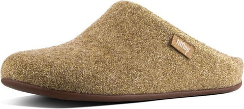 FitFlop Chrissie glitter pantoffels beige  - Maat 36, FitFlop