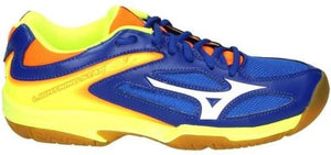 Mizuno Wave Lightning Star Z3 Jr blauw indoor schoenen kids, Mizuno