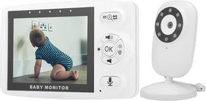 Nuki Easy Babyfoon met Camera - Full HD - Direct te gebruiken, Nuki Easy
