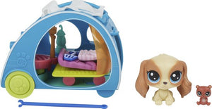 Littlest Petshop Mini Playset Cozy Camper, Littlest Pet Shop