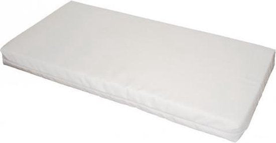 Bebies First Foam Matras - 80x40x4 cm - Wit, Bebies First