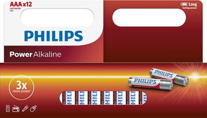 Philips AAA Batterijen, Philips