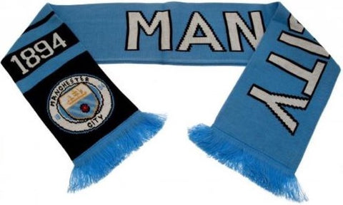 Manchester City - Sjaal - Since 1894 - Navy/Blauw, Manchester City