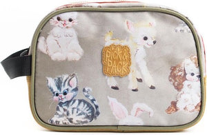 Pick & Pack Cute Animals - Toilettas - Beige Multi, Pick & Pack