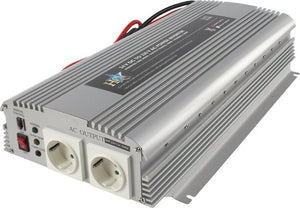 HQ, 24V - 1700W 2xSchuko, Power Inverter