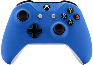 Xbox One S,,Wireless Controller – Soft Grip Blauw Custom | Clever Gaming, Clever Gaming