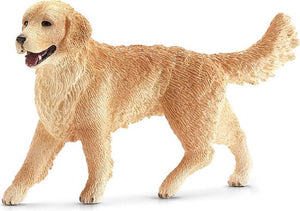 Schleich Golden Retriever 16395 - Hond Speelfiguur - Farm World - 2 x 7,5 x 5 cm, Schleich