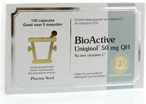 Pharma Nord BioActive Uniqinol Q10 50 mg - 150 Capsules - Voedingssupplement, Pharma Nord