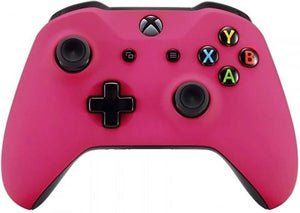 Xbox One S,,Wireless Controller – Soft Grip Roze Custom | Clever Gaming, Clever Gaming