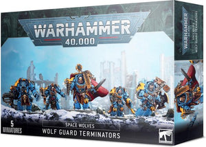Warhammer 40.000 Space Wolves Wolf Guard Terminators, Games Workshop