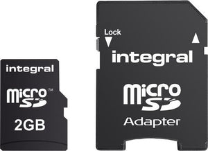Integral INMSD2GV2 flashgeheugen 2 GB MicroSD, Integral