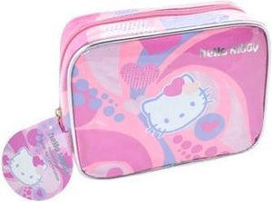 Hello Kitty toilettas roze / paars, Hello Kitty