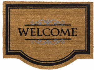 Ruco Kokosmat Classic Welcome - 60 x 80 cm - Naturel, HAMAT