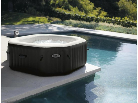 Inex Pure spa - Deluxe Jacuzzi met Jet & Bubble - 218x71 cm - 6 personen, Intex