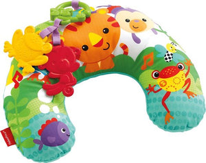 Fisher-Price Rainforest Buikligtrainer met Trilfunctie, Fisher-Price