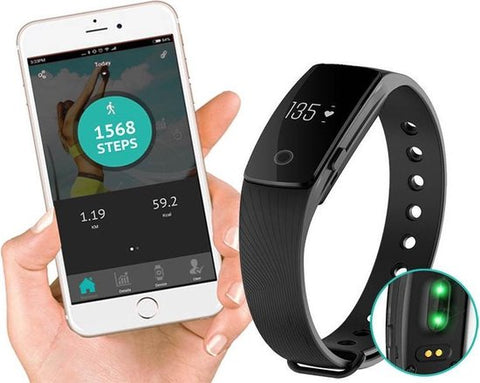 Guardo Fit coach HR One - Activity tracker - Zwart, Guardo