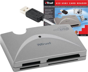 Trust 620 USB2 Card reader, Trust